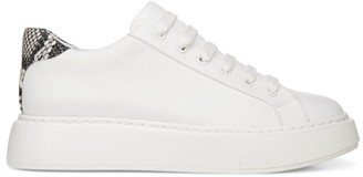 Vince Rhea Leather Platform Sneakers