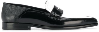 Loewe Two-Tone Penny Loafers