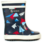 Aigle Baby Flac Kid Airplane Rain Boots