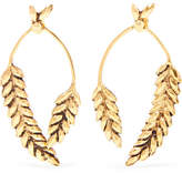 Aurelie Bidermann Wheat Gold-plated Earrings