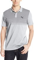 Puma Men's Sports Stripe Jersey Polo
