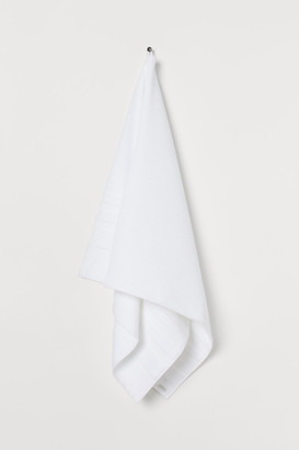 H&M Waffled bath towel