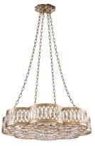 John-Richard Collection Eight Light Diamante Chandelier