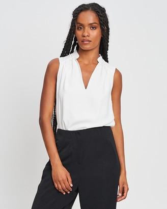 Willa - Women's White Bodysuits - Dreamer Bodysuit - Size 6 at The Iconic