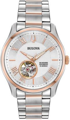 Bulova Men's Automatic Bracelet Watch, 42mm