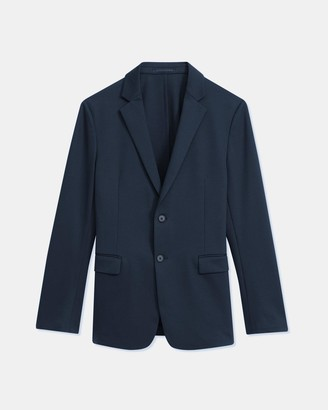 Theory Clinton Blazer in Compact Ponte