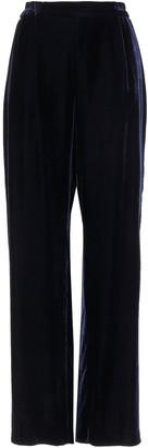 Stella McCartney Cicely Velvet Wide-leg Pants