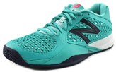 New Balance Wc996 Women Round Toe Synthetic Tennis Shoe.
