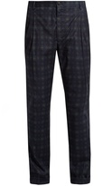 Etro Printed stretch-cotton trousers