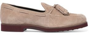 Tod's Tasseled Suede Loafers