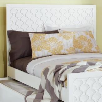 Amanda Panel Headboard My Home Furnishings Size: Twin, Color: Bright White
