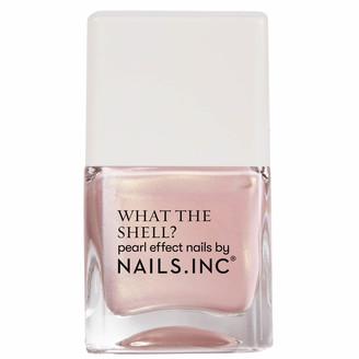 Nails Inc What the Shell Shells Aloud Top Coat 14ml