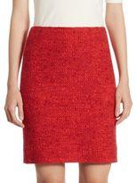 Akris Punto Boucle Jersey Mini Skirt