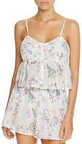 MinkPink Secret Garden Swim Cover-Up Camisole