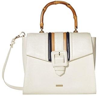 Brahmin Aldridge Ingrid Satchel (Daydream) Handbags
