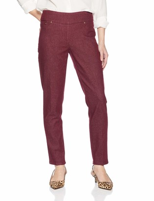 Ruby Rd. Women's Petite Size Pull-on Colored Extra Stretch Denim Pant