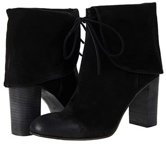 Free People Mila Heel Boot (Black) Women's Shoes