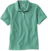 L.L. Bean Premium Double L Polo, Relaxed Fit