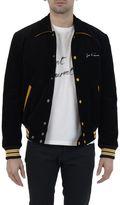 Saint Laurent Black Velvet Bomber Jacket