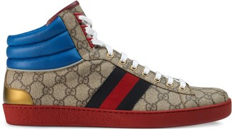 Gucci Men's Ace GG high-top sneaker