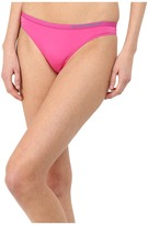Emporio Armani Visability Bi-Colour Microfiber Thong Women's Underwear
