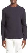 Versace Men's Embossed Half Medusa Sweatshirt