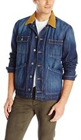 Lucky Brand Men's Denim Work Jacket