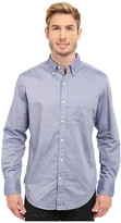 U.S. Polo Assn. Dobby Print Long Sleeve Oxford Shirt