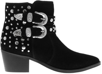 Attribute Irma Studded Ankle Boots