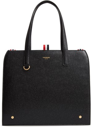 Thom Browne Mrs. Thom Calfskin Leather Shoulder Bag