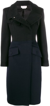 Alexander McQueen Fitted Double-Breasted Coat