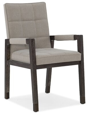 Hooker Furniture Aventura Cupertino Upholstered Dining Arm Chair (Set of 2