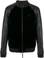 Giuseppe Zanotti Design Lance bomber jacket