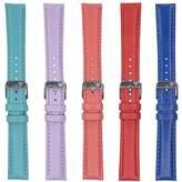 Dakota Unisex-Adult 4783 Colorful Genuine Leather Band (16 mm, 18 mm), 18 mm, Dark