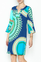 Aryeh Printed Knit Dress
