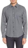 BOSS Lance Regular Fit Gingham Sport Shirt