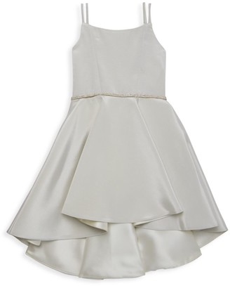 Zoe Girl's Demi Two-Tone Hi-Lo Dress
