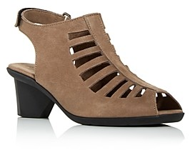 Arche Women's Enexor Cutout Slingback Mid-Heel Sandals