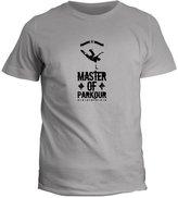 Idakoos Master of Parkour - Sports - T-Shirt