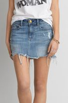 American Eagle Outfitters AE Five Pocket Destroyed Skirt