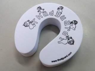 Thudguard Door Stopper/Finger Guard - 2 Piece