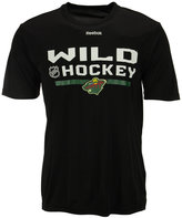 Reebok Men's Minnesota Wild Center Ice Locker Room T-Shirt