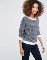 Shae Mix Stitch Knit Sweater
