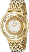 Versace Women's VQV080015 Venus Gold-Tone Stainless Steel Watch