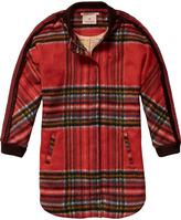 Scotch & Soda Tartan Coat
