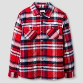 Cat & Jack Boys' Plaid Button Down Shirt