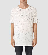 AllSaints Feathered Crew T-Shirt