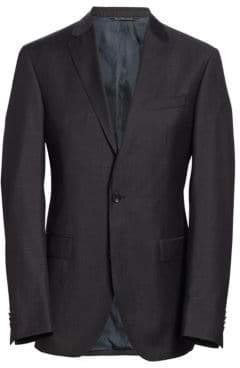 Saks Fifth Avenue MODERN Basic Wool Suit Jacket