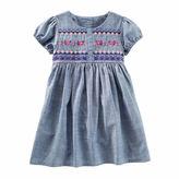 Osh Kosh Oshkosh Short Sleeve Babydoll Dress - Toddler Girls