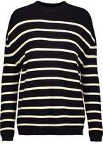 MiH Jeans Breton Striped Merino Wool Sweater